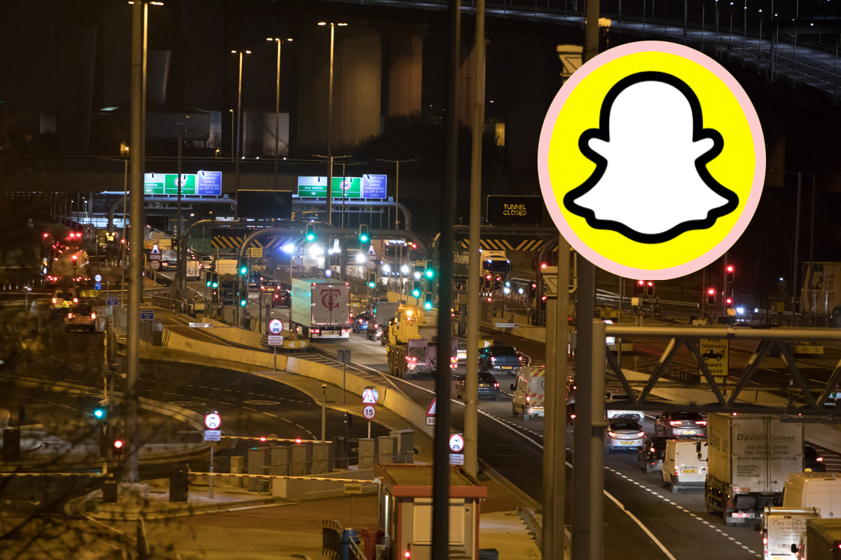 Woman Shooting Snapchat Video Falls Out Into Traffic