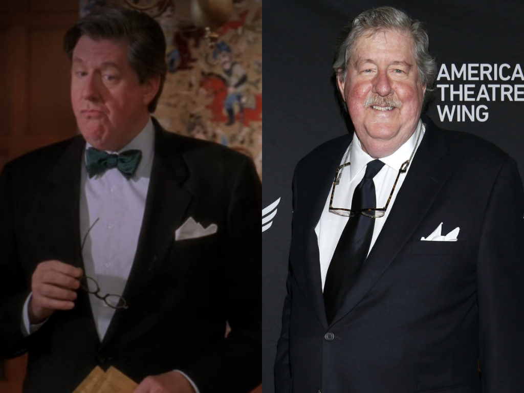 edward herrmann on gilmore girls then and now