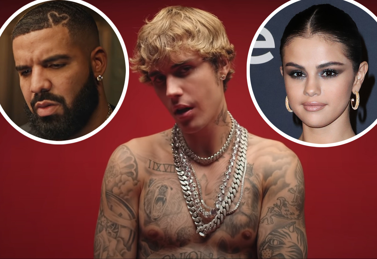 Justin Bieber stands in for Drake in Popstar video