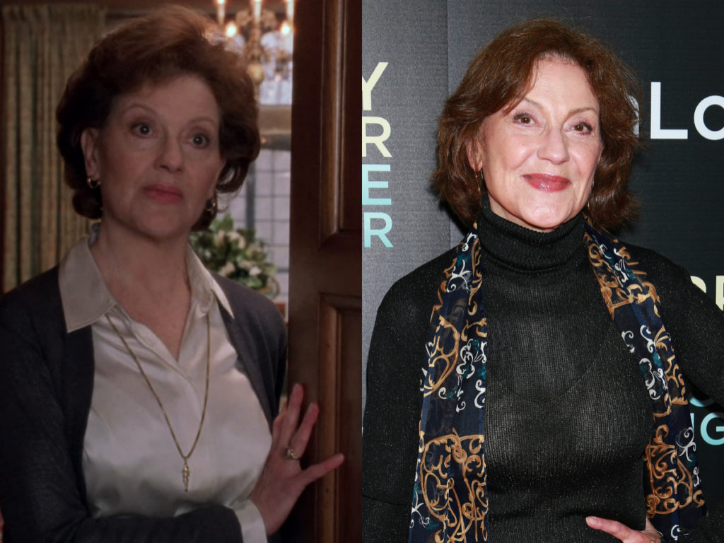 kelly bishop gilmore girls then and now