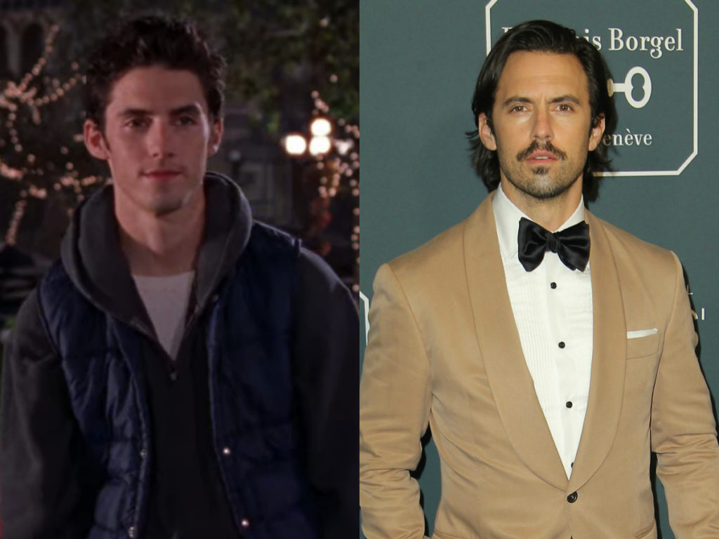 milo ventimiglia on gilmore girls then and now