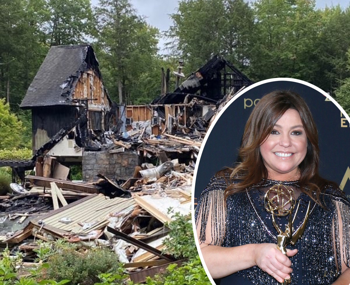 Rachael Ray Shares Devastating Damage After Massive House ...Rachael Ray House Fire Drone