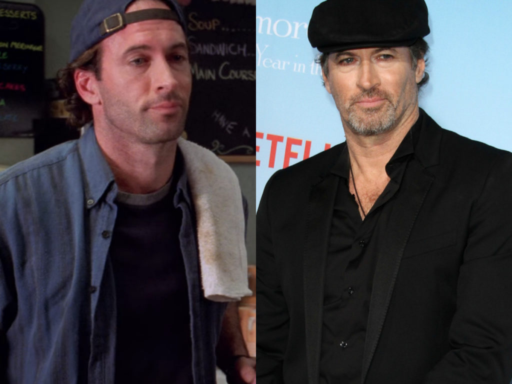 scott patterson gilmore girls then and now