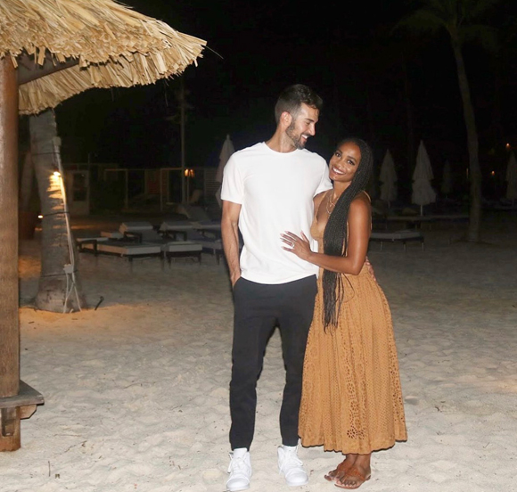 Rachel Lindsay and Bryan Abasolo still made time to celebrate their first wedding anniversary despite living apart for most of their first year of marriage.