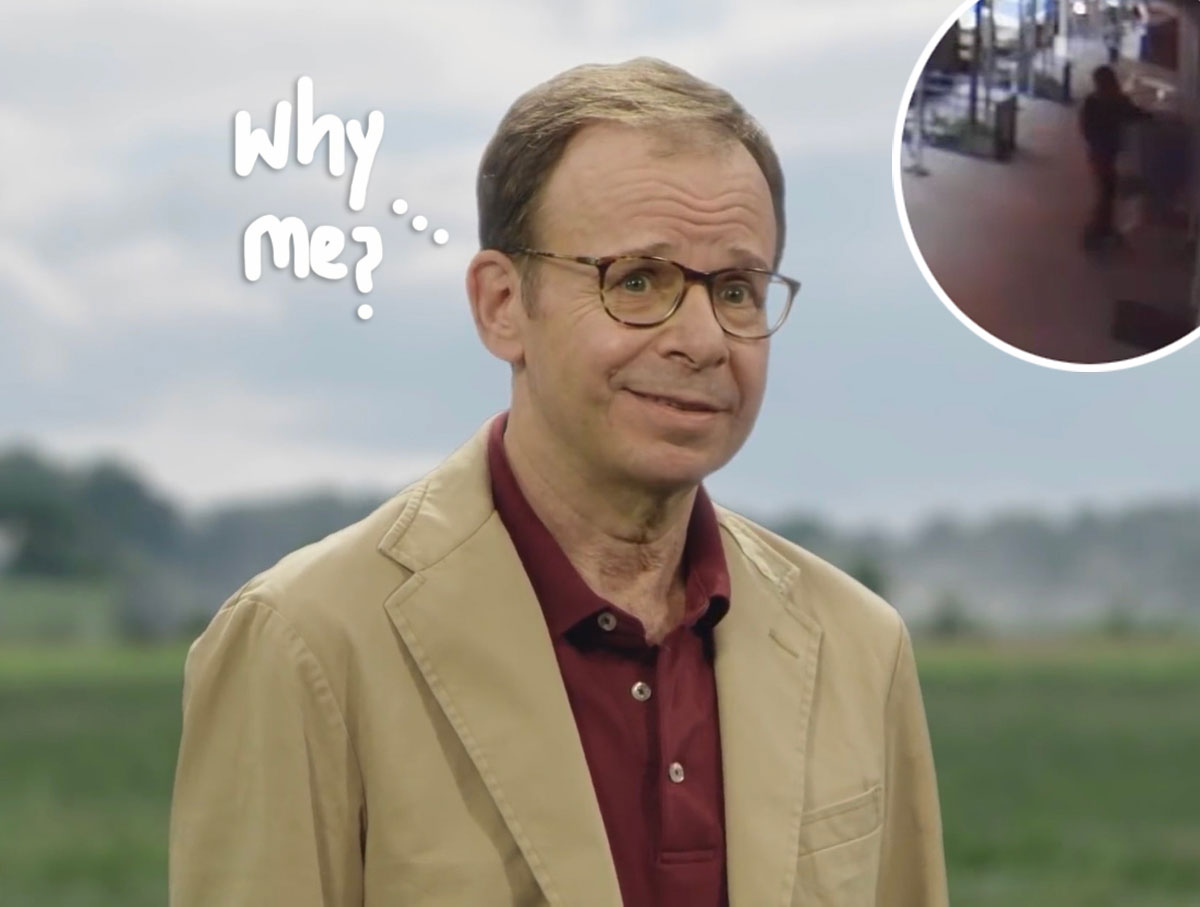 Actor Rick Moranis is randomly attacked by stranger in NYC
