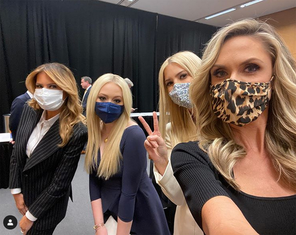 Trump Family masks