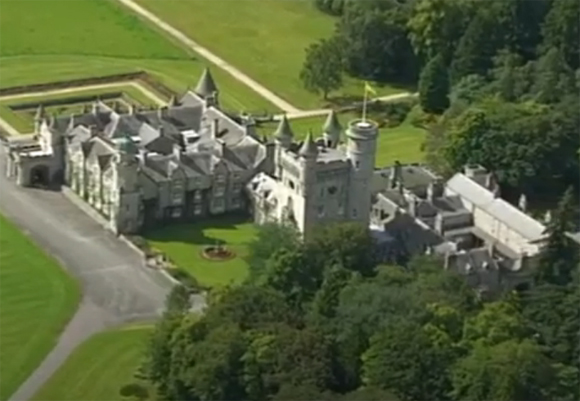 Balmoral castle is haunted