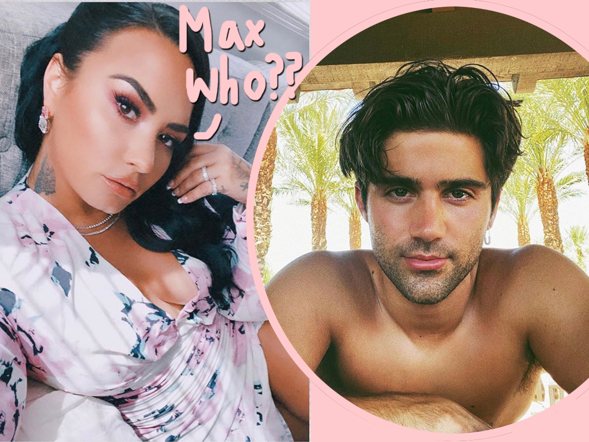 demi lovato max ehrich never engaged
