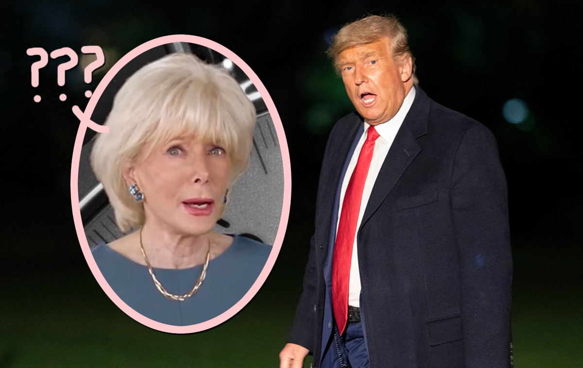 Trump Storms Out Of 60 Minutes Interview With Leslie Stahl — Then Chastises HER For Not Wearing A Mask?!