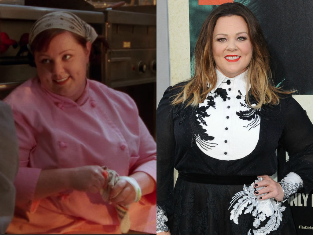 melissa mccarthy on gilmore girls then and now