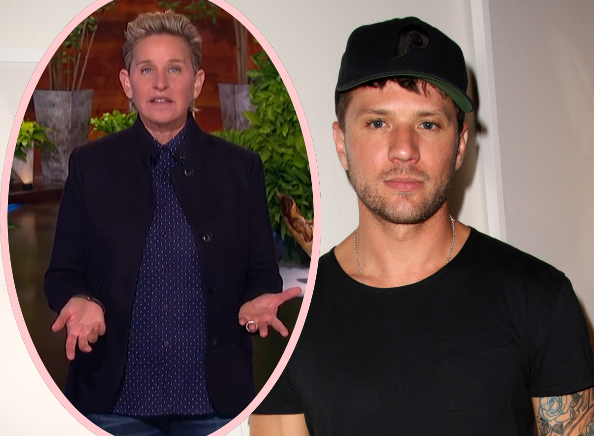 Ryan Phillippe Just Took A Shot At Ellen DeGeneres!