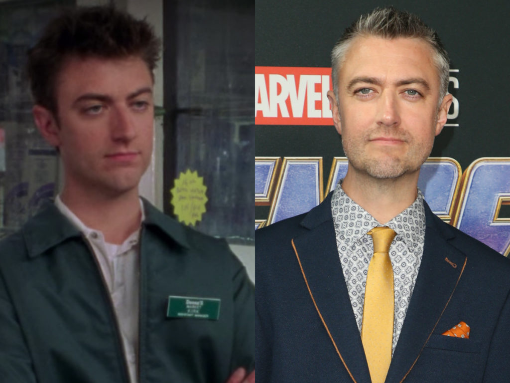 sean gunn on gilmore girls then and now