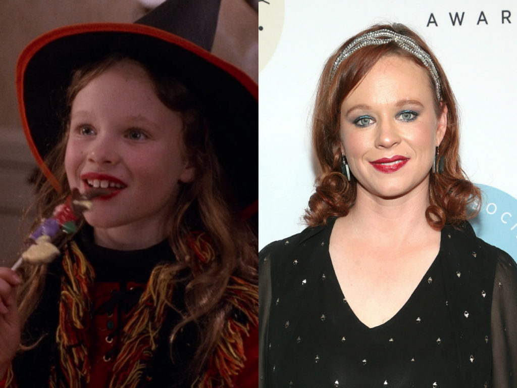 thora birch of hocus pocus then and now