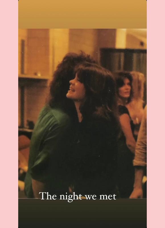 """valerie bertinelli eddie van halen ig story 1: """"the night we met"""" August 1980"""