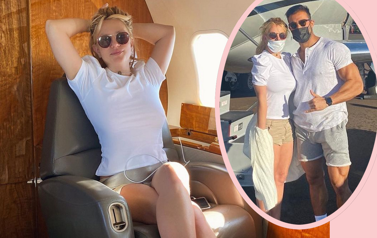 Britney Spears Runs Away To 'Work On' Herself! See Her First Birthday Vacation Pics! - Perez Hilton