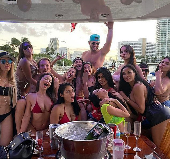 Dr Mike Bikini Models Party