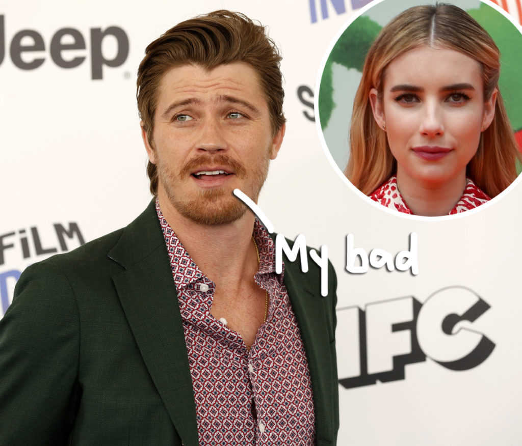 Emma Roberts' Baby Daddy Garrett Hedlund Was Busted For ...