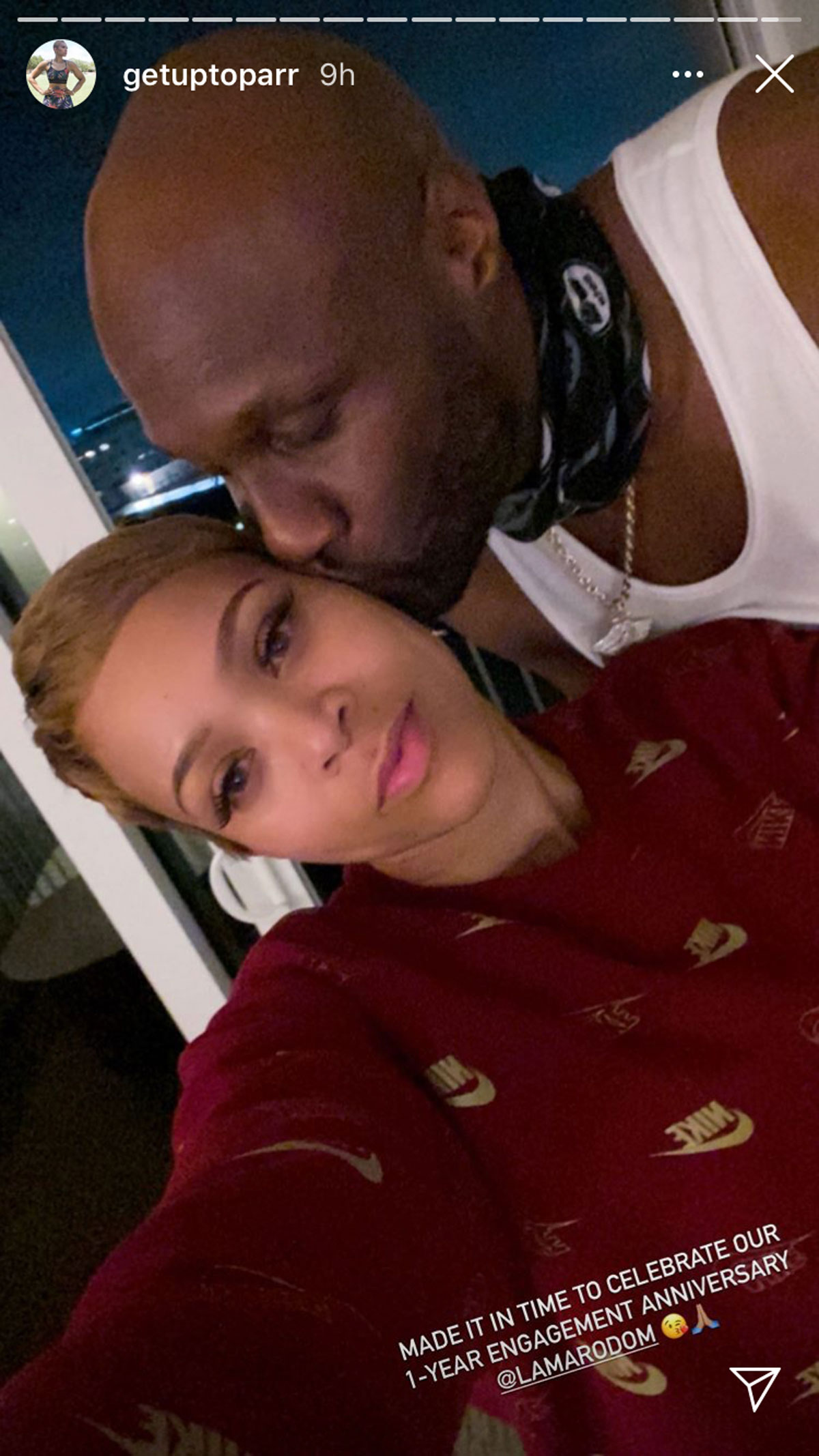 Lamar Odom and his fiancée, Sabrina Parr, appear to have reconciled after dramatic breakup news last week!