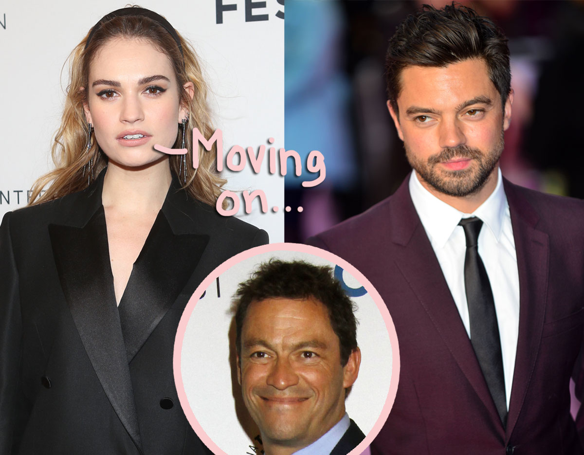 Lily James makes her first public appearance since the Dominic West scandal with ANOTHER Dominic...