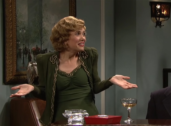 Dont make me sing Kristen Wiig SNL