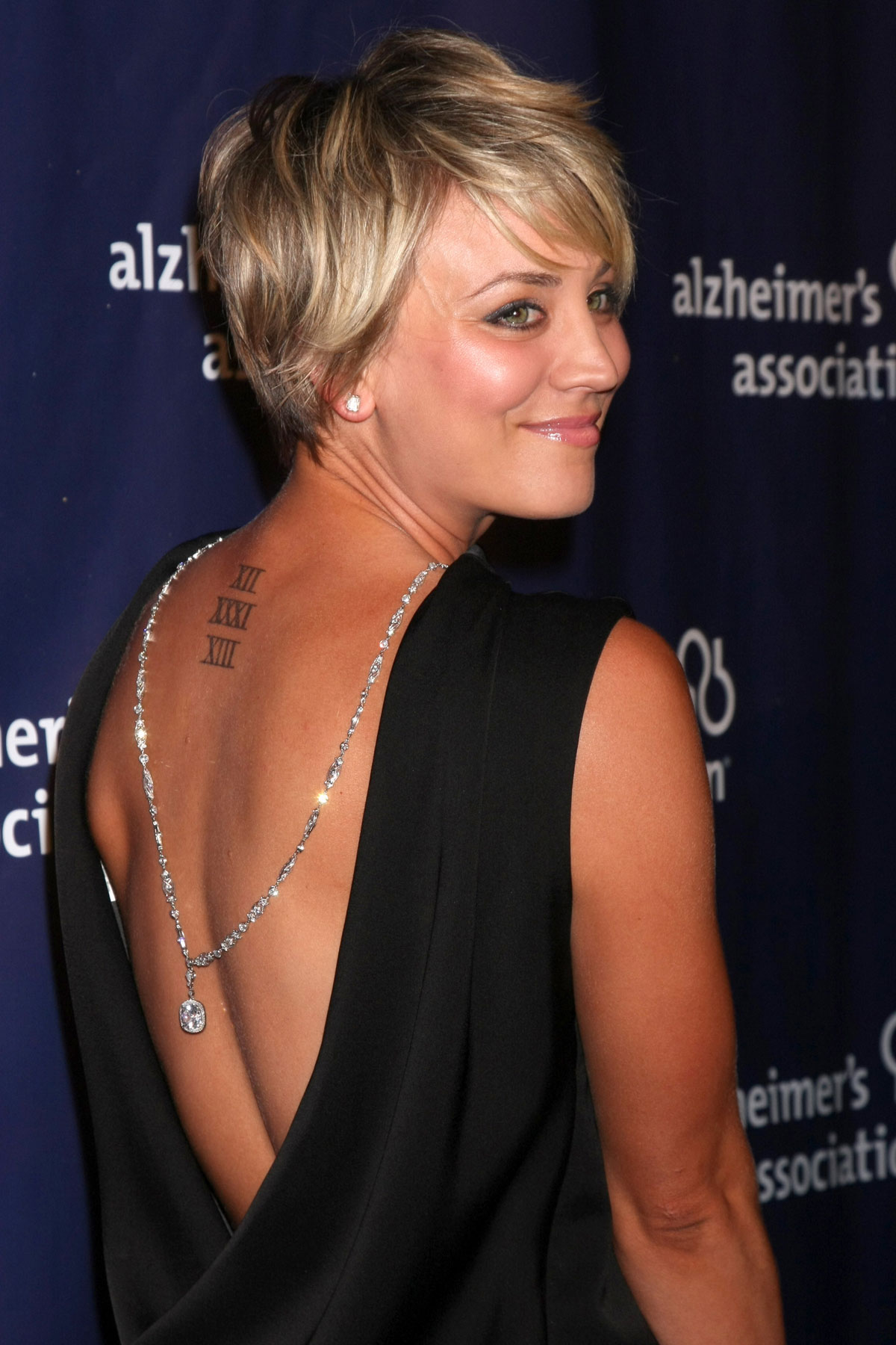 Kaley Cuoco's tattoo before she covered it up