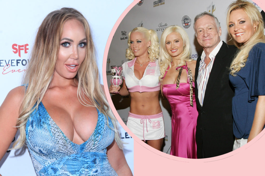 Playboy Model Claims Hugh Hefner Never Had S X With Any Playmates It Was All For Show Perez Hilton