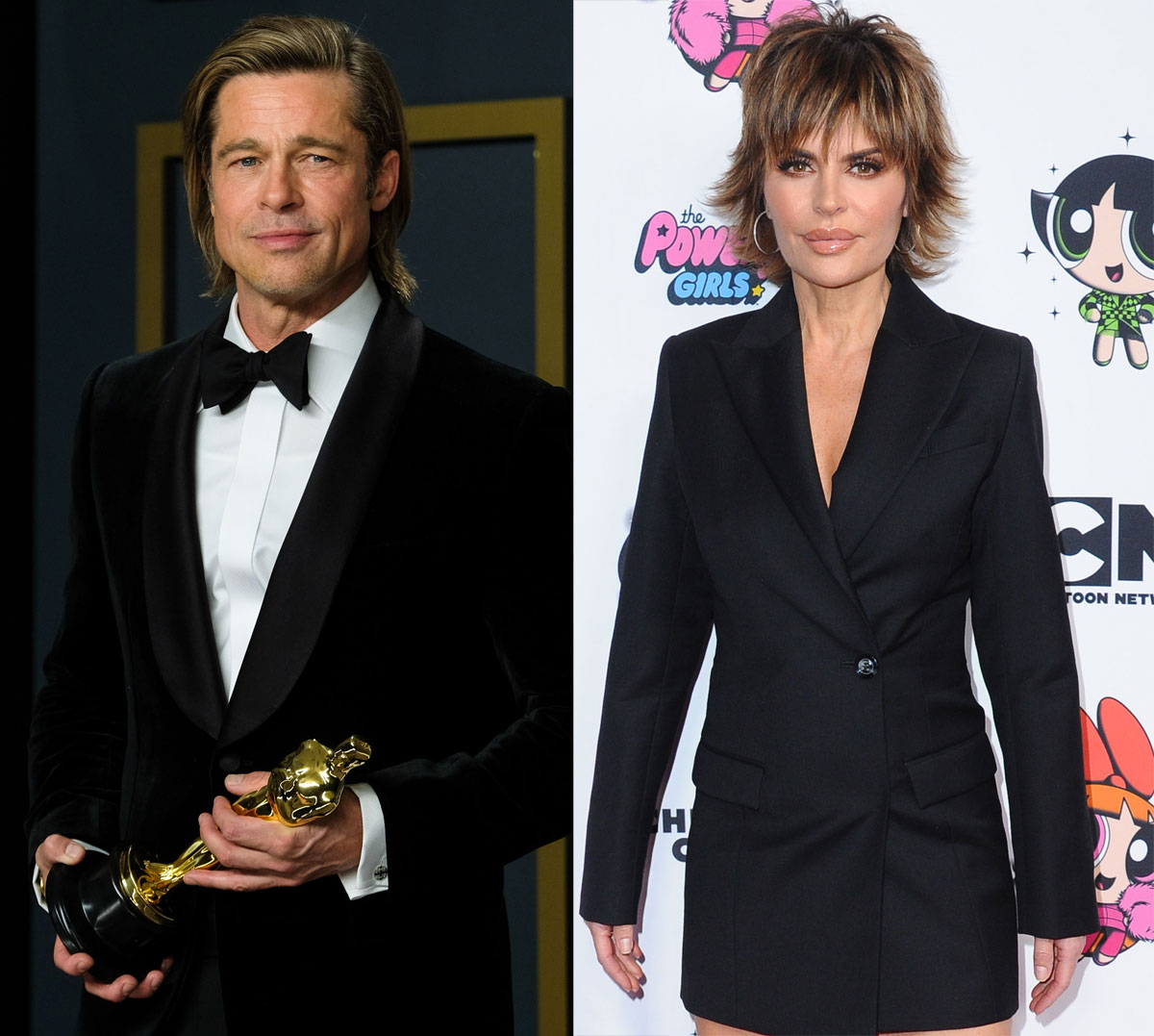 Brad Pitt and Lisa Rinna are actually the same age!