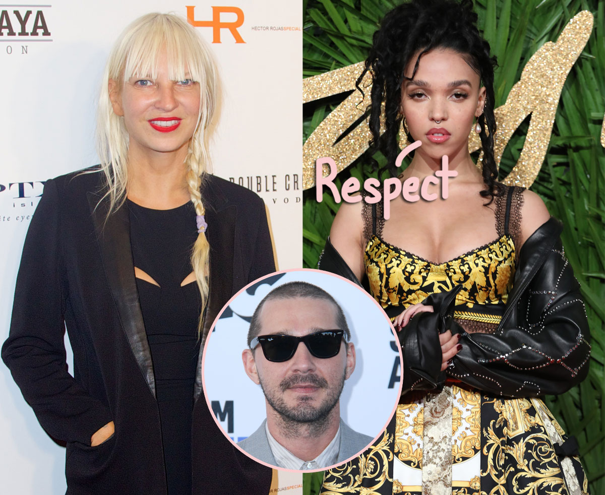 Fka Twigs Publicly Responds To Sia S Claim That Shia Labeouf Conned Her Into An Adulterous Relationship Perez Hilton