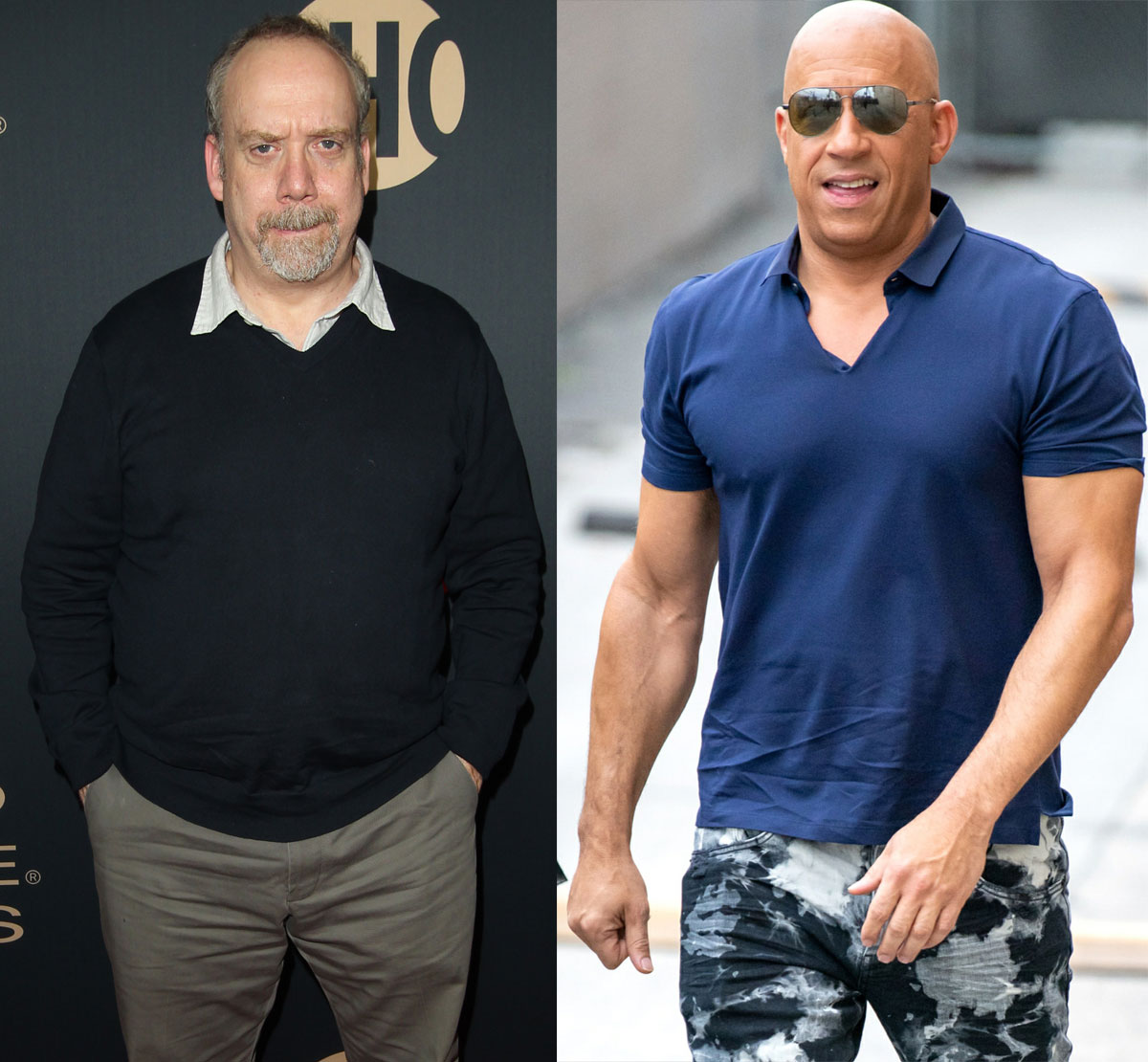 Paul Giamatti and Vin Diesel are the same age!