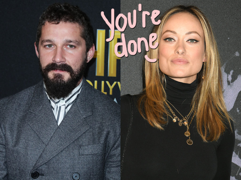 olivia wilde fired shia labeouf from don't worry darling