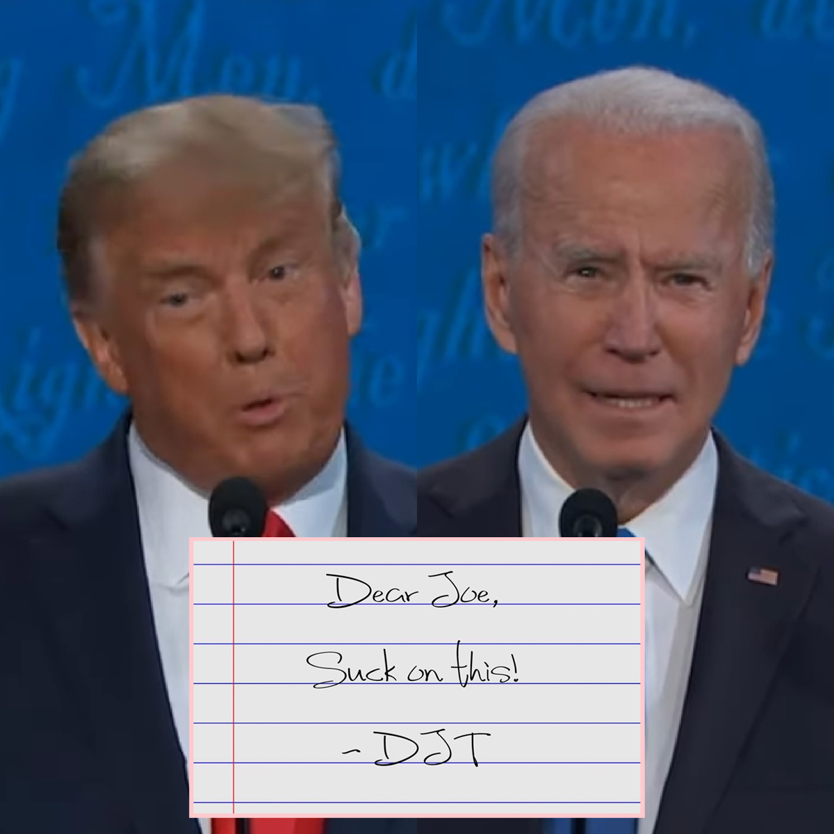 Trump Reportedly Left A Parting Note For Biden And Twitter Has A Field Day Meme Ing It Perez Hilton