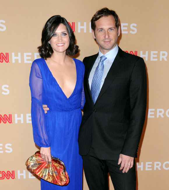 Josh Lucas and Jessica Ciencin Henriquez in 2013