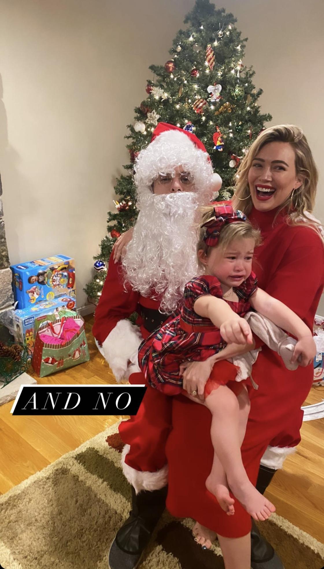 Hilary Duff, Matthew Koma Over Christmas