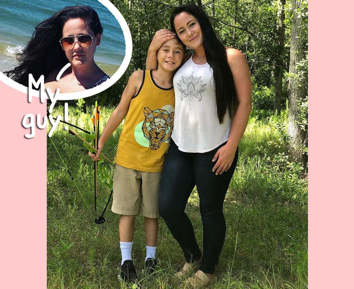 jenelle evans son jace custody parenting