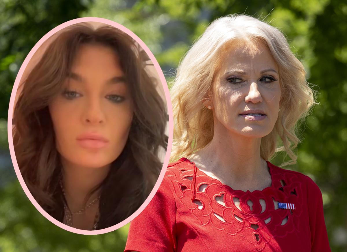 Kellyanne Conway accused of posting topless photo of