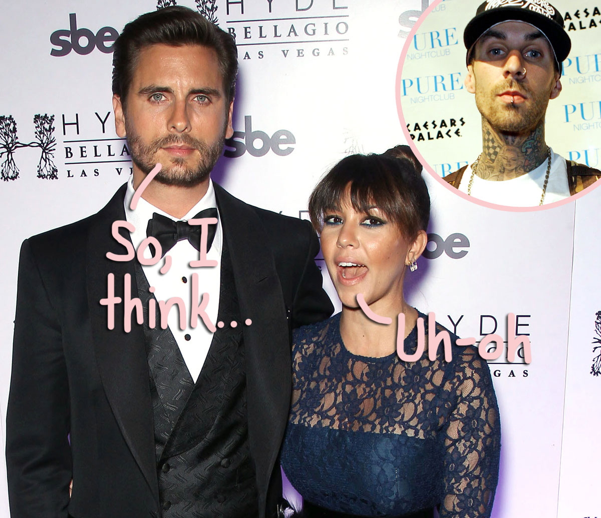Here's How Scott Disick REALLY Feels About Kourtney Kardashian Dating Travis Barker...