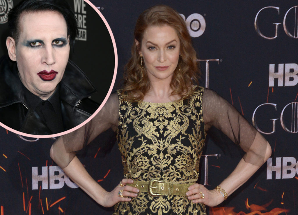 Game Of Thrones Actress Comes Forward With Abuse Claims Against Marilyn Manson
