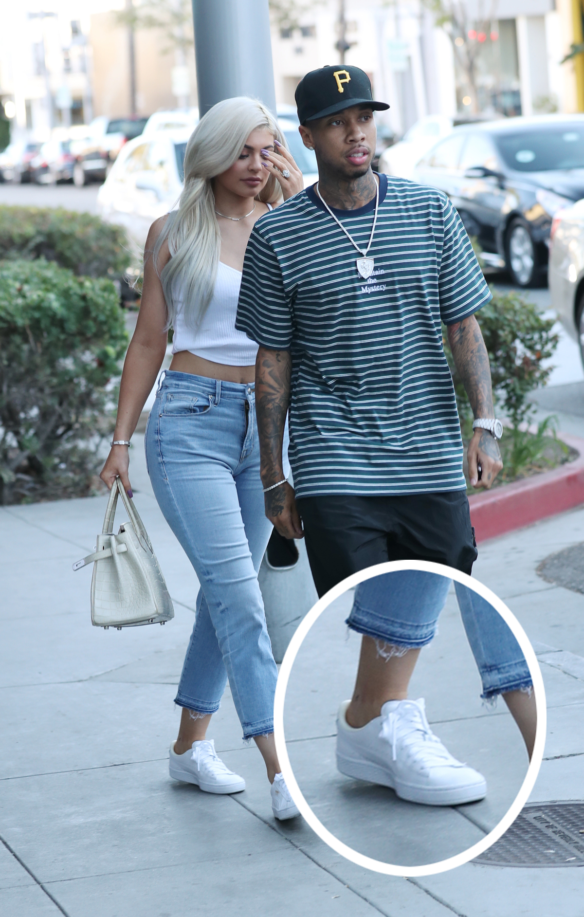 Kylie Jenner had Tyga tattoo, but covered it up