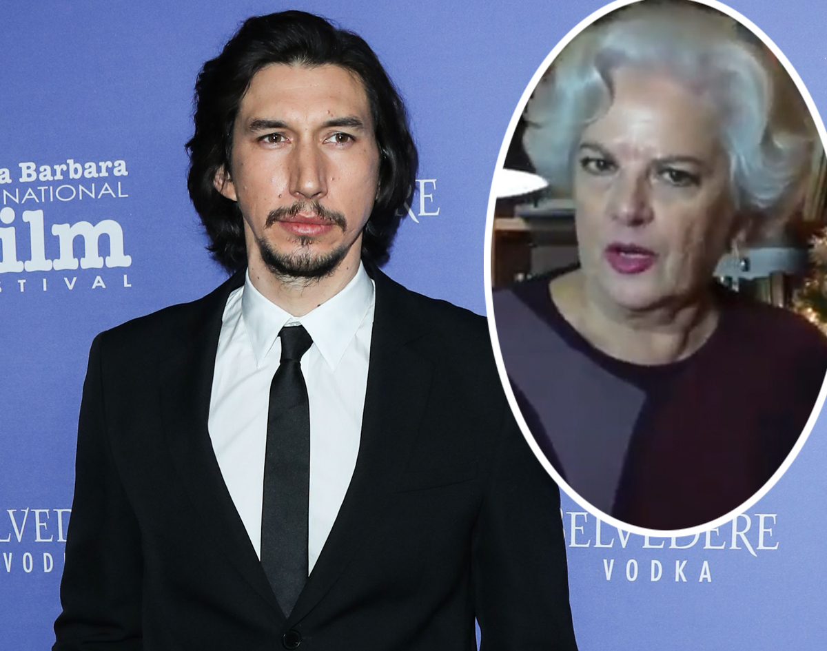 Actress Says Adam Driver 'Attacked' Her On Film Set!