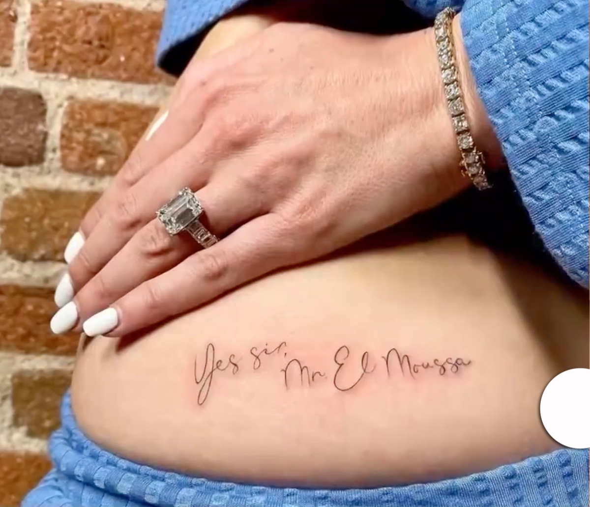 Heather Rae Young Reveals New Butt Tattoo