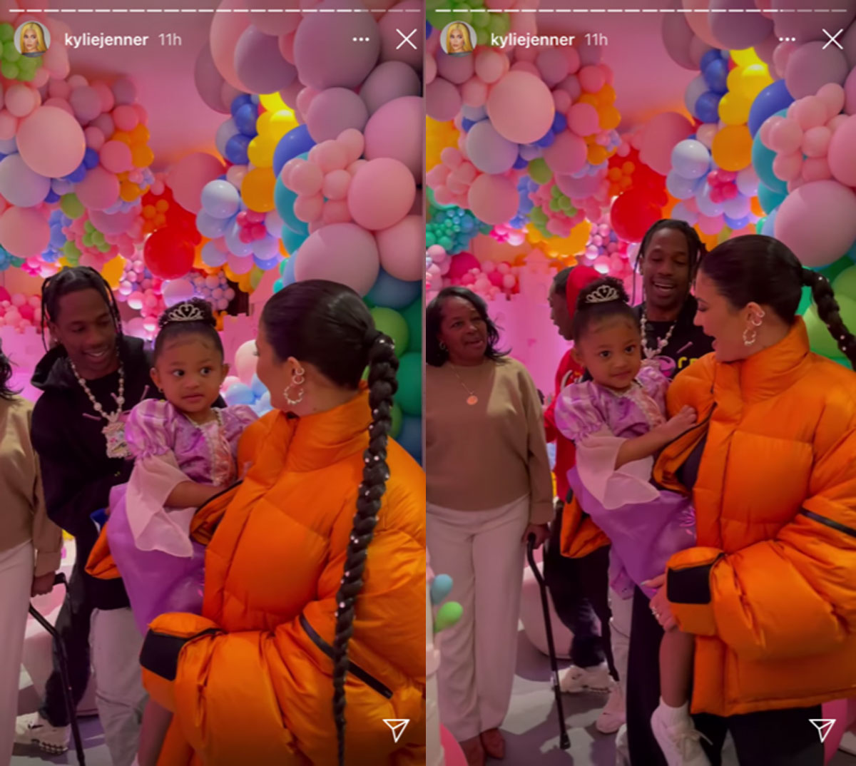 Kylie Jenner is taking heat for Stormi Webster's very crowded third birthday party in the midst of a pandemic!