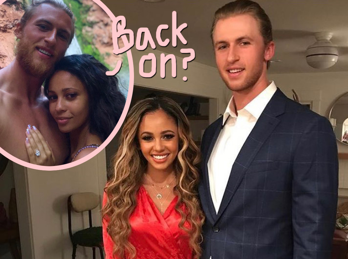 Are Vanessa Morgan Estranged Husband Michael Kopech Back Together After Their Son S Birth Perez Hilton