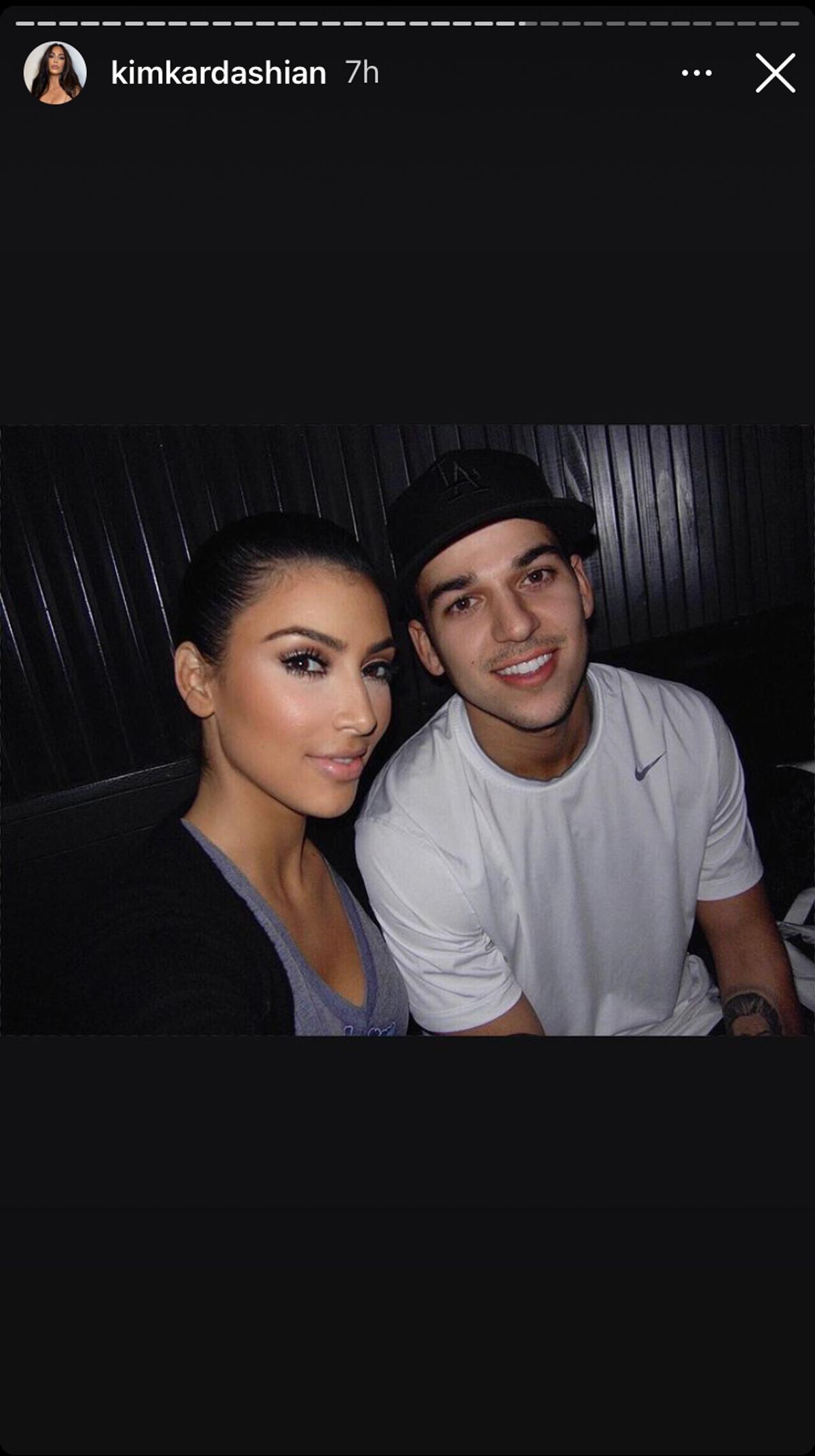 The Kardashian Family Honors Rob Kardashian On IG For His Birthday -- With Kim Kardashian Sharing A Rare New Pic!