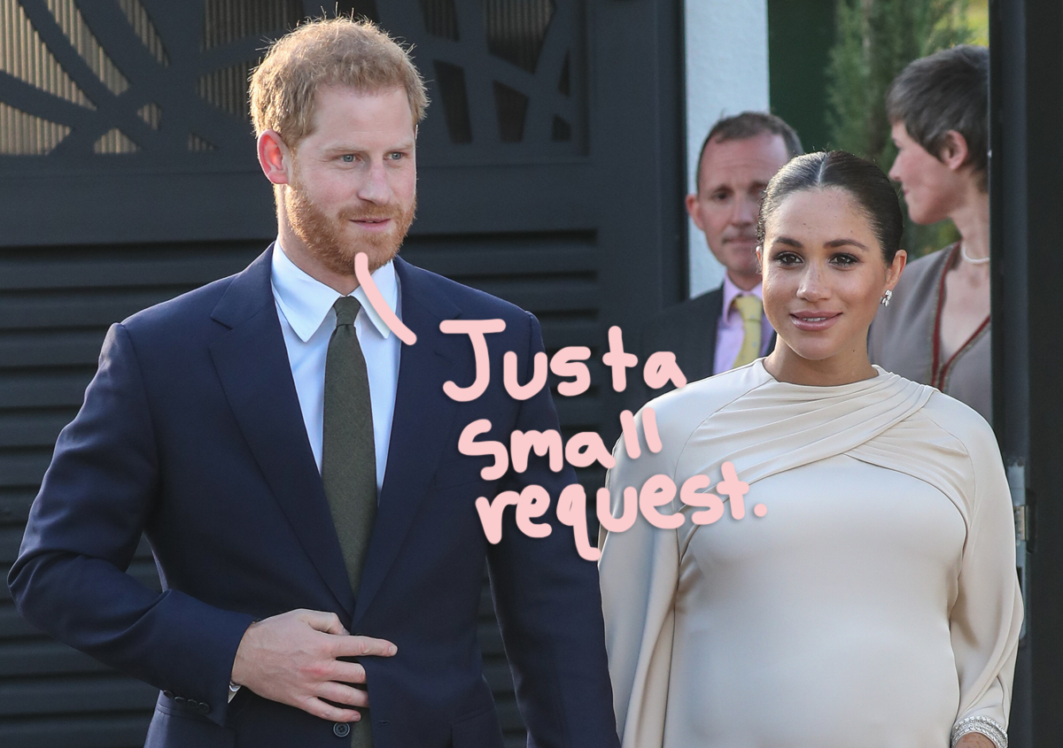 Meghan Markle Prince Harry Had Four List Of Demands For TV Networks Airing Oprah Winfrey Interview
