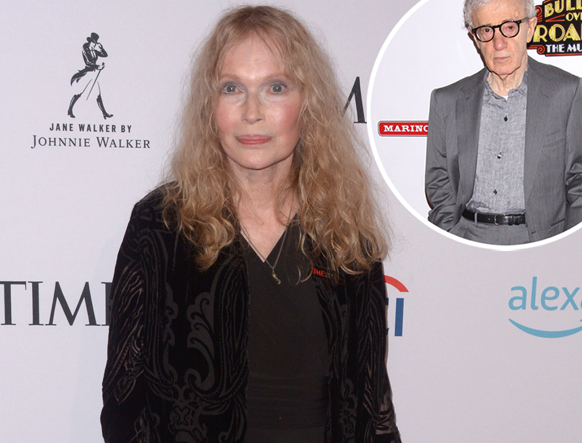 Mia Farrow Confronts Woody Allen In Taped Calls On Allen v Farrow Docuseries