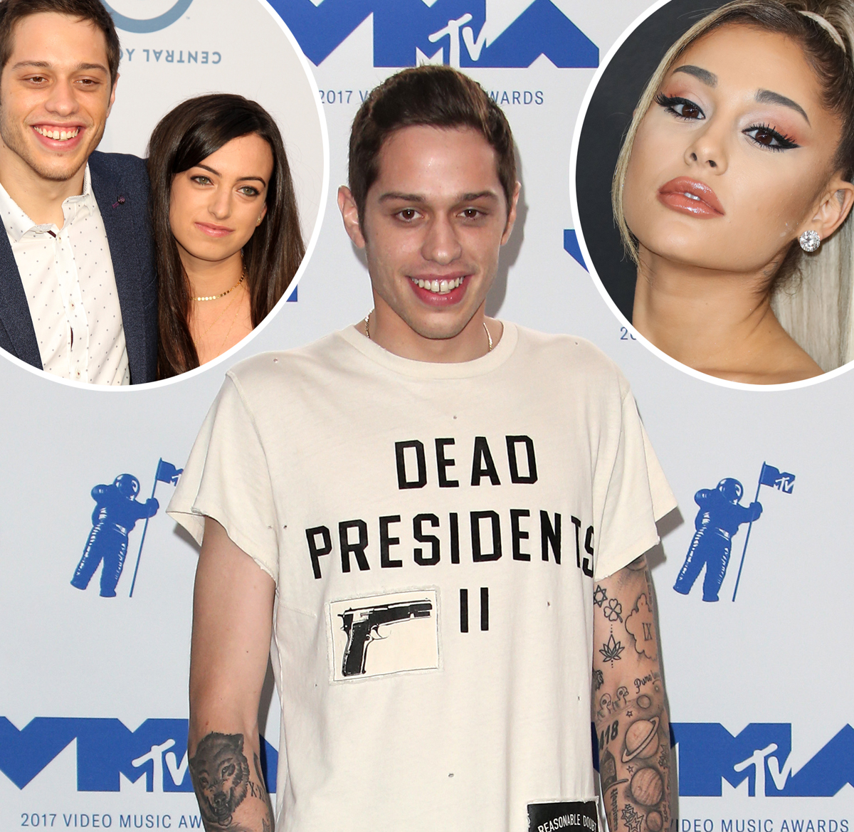 Pete Davidson covers up and removes tattoos
