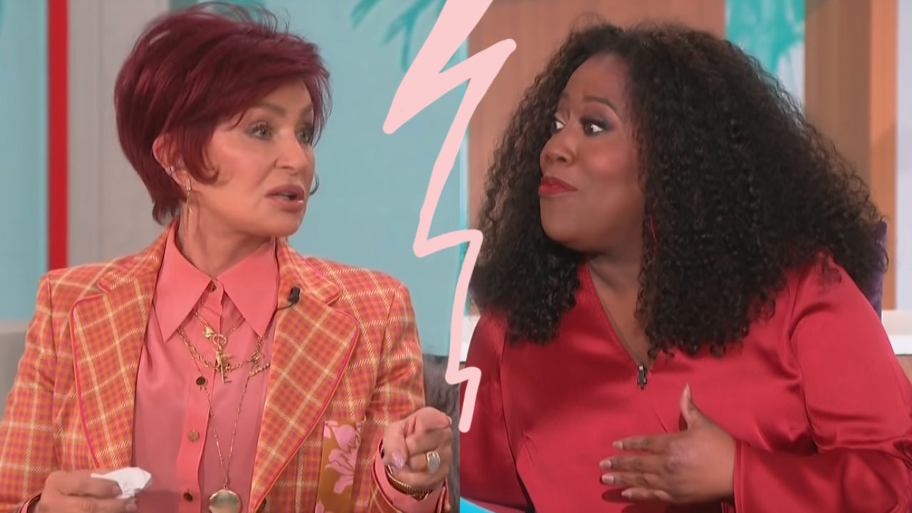 The Talk Fallout Sharon Osbourne Sheryl Underwood Will Never Share The Same Stage Again Perez Hilton