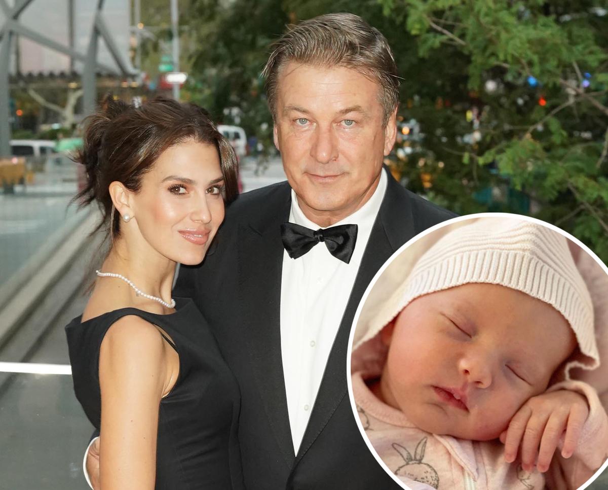 Alec & Hilaria Baldwin's Sixth Baby Lucia Was Born Via Surrogacy!