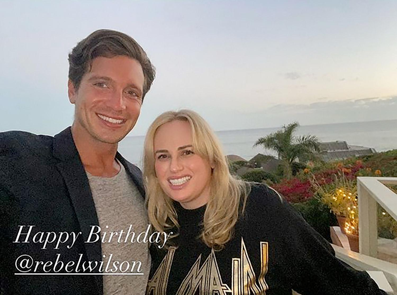 Jacob Busch Wishes Ex Rebel Wilson Happy Birthday!