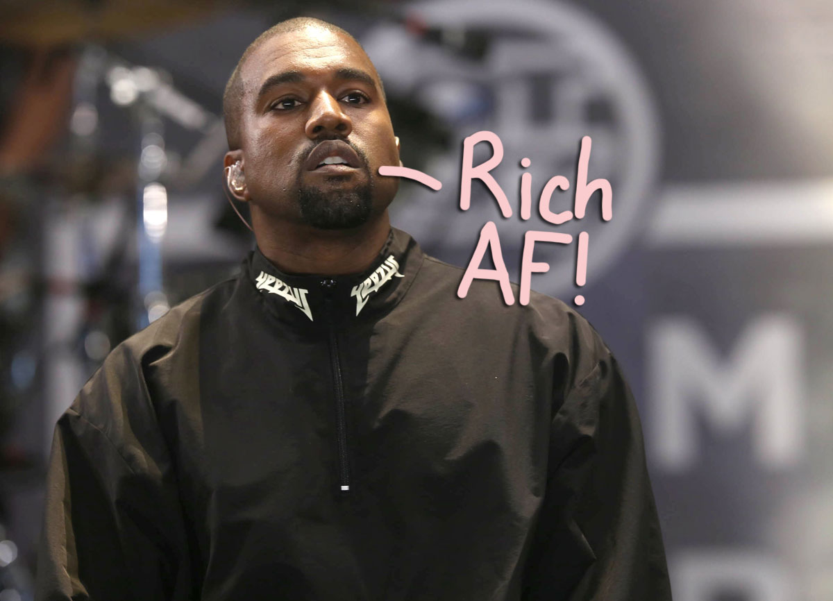 Kanye West is worth BILLIONS, according to a new valuation!